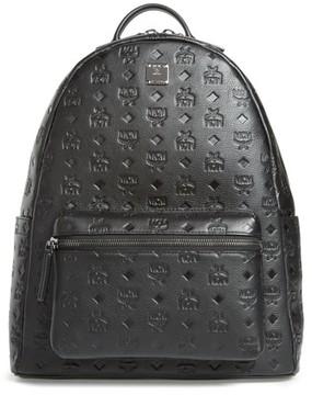 MCM Men's Ottomar Leather Backpack - Black