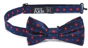 Nordstrom Boy's Medallion Silk Bow Tie