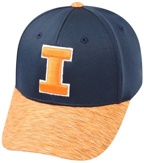 Top of the World Adult Illinois Fighting Illini Lightspeed One-Fit Cap