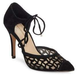Saks Fifth Avenue Catalina Pointed Toe D'Orsay Pumps