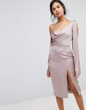 Finders Keepers Finders Aspects Satin Feel Midi Dress