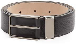 VALENTINO Rockstud grained-leather belt