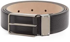 Valentino Rockstud grained-leather belt