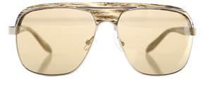 Alexander Wang linda farrow x  AW/19/5 Aviator Sunglasses