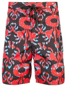 Cynthia Rowley | Hanley Board Short | Xl | Red