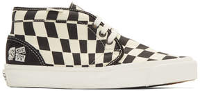 Vans Black and White Taka Hayashi Edition Chukka 75 Sneakers