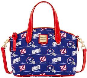 Dooney & Bourke New York Giants Nylon Mini Crossbody Satchel - BLUE - STYLE