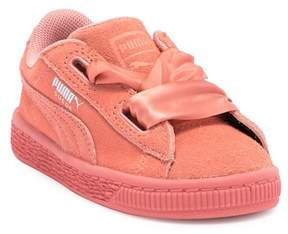 Puma Suede Heart Sneaker (Toddler)