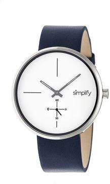 Simplify The 4400 Collection SIM4403 Gunmetal Analog Watch