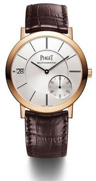 Piaget 40mm Altiplano Watch with Alligator Strap
