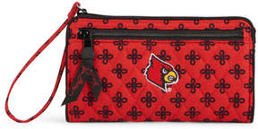 Vera Bradley Louisville Cardinals Wristlet