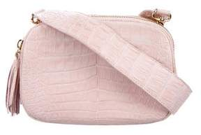 Nancy Gonzalez Crocodile Crossbody Bag