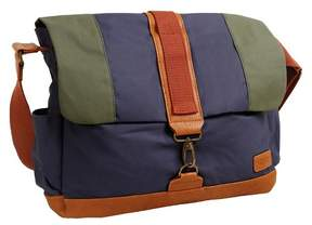 J-World J World Sam Canvas Messenger Bag - Navy
