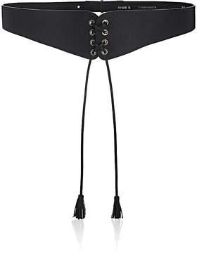 MAISON BOINET Women's Lace-Up Leather Belt
