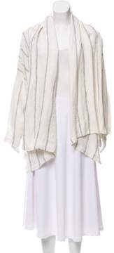 eskandar Striped Oversize Jacket