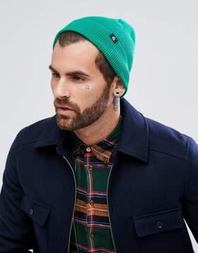 Paul Smith Merino Wool Beanie in Green