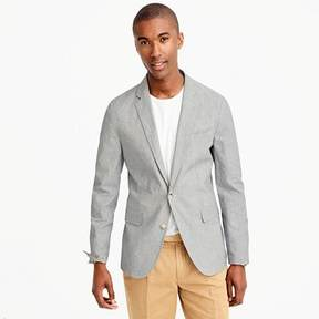 J.Crew Unstructured Ludlow blazer in cotton-linen
