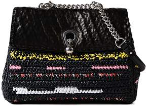 Ermanno Scervino Woven Shoulder Bag