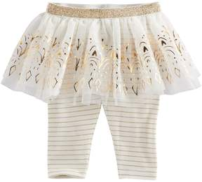 Baby Starters Baby Girl Stripe Tutu Leggings