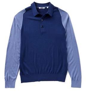 Murano Colorblock Polo Sweater