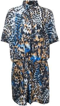 Barbara Bui printed drawstring shirt dress