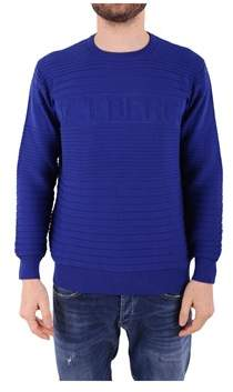 Iceberg Men's Purple Cotton Sweatshirt.