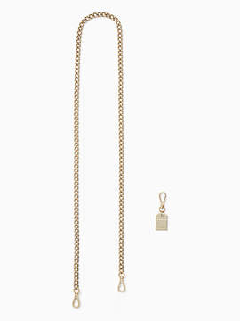Kate Spade Make it mine chain strap - GOLD - STYLE
