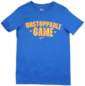 Nike Big Boys' (8-20) Unstoppable Game Graphic T-Shirt-Photo Blue-Small