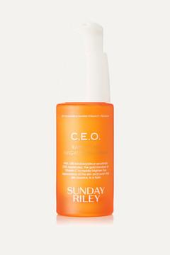 Sunday Riley C.e.o. Rapid Flash Brightening Serum, 30ml - Colorless