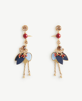 Ann Taylor Crane Statement Earrings