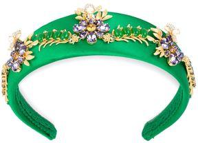 Dolce & Gabbana flower embellished headband
