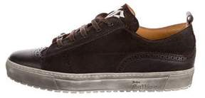 John Galliano Leon Wingtip Brogue Sneakers