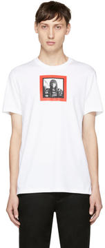 Givenchy White Face T-Shirt