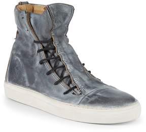 John Varvatos Men's Mac Lace-Up Leather High-Top Sneakers