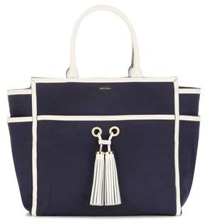 Melissa Odabash Palm Beach canvas tote