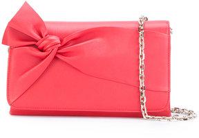 Casadei bow detail shoulder bag