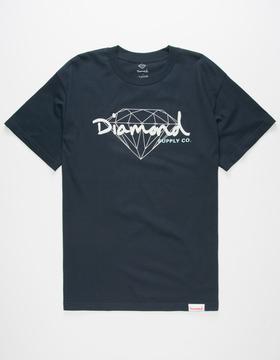 Diamond Supply Co. Brilliant Script Mens T-Shirt