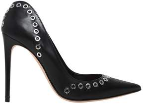 Alexander McQueen 105mm Eyelets Leather Pumps