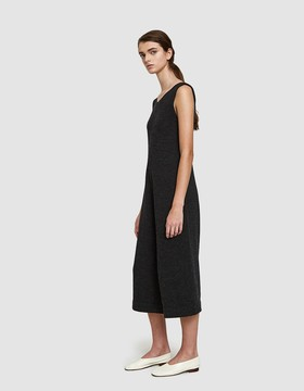 LAUREN MANOOGIAN Miter Jumpsuit in Dark Charcoal