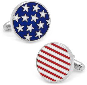 Asstd National Brand Stars and Stripes American Flag Cuff Links
