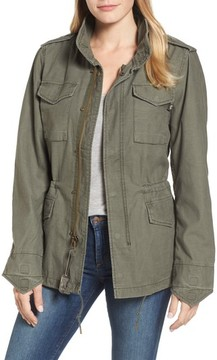 Alpha Industries Women's M-65 Defender Camo Field Jacket