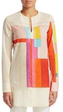 Akris Cotton Tunic Blouse