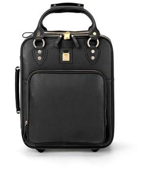 Aspinal of London Candy Case In Black Pebble Calf