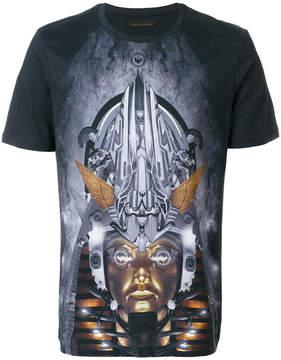 Frankie Morello digital print T-shirt
