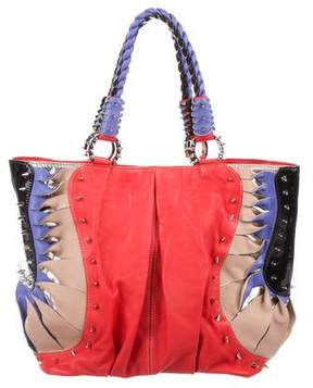 Christian Louboutin Studded Leather Tote