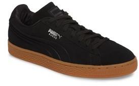 Puma Boy's Suede Classic Debossed Jr. Sneaker