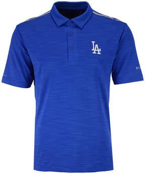 Columbia Men's Los Angeles Dodgers Omni-Wick Alignment Polo