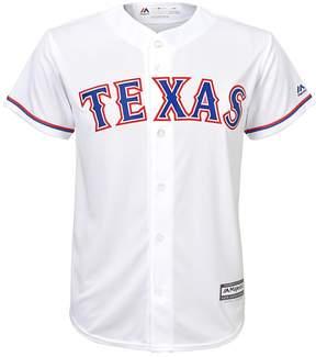 Majestic Boys 8-20 Texas Rangers Home Replica MLB Jersey