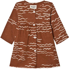 Bobo Choses Rust Tide Baby Princess Dress
