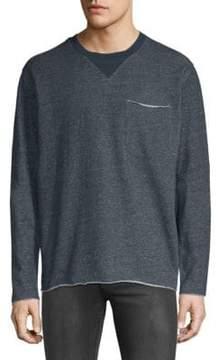 ATM Anthony Thomas Melillo Heathered Cotton Sweatshirt